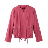 ☘ Куртка-ветровка ягодного цвета в стиле casual от Tchibo(Германия), размеры наши: 44-46 (38 евро)