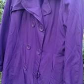 Плащь короткий фиолет
