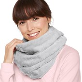 ☘ Теплый меховой снуд- шарф-воротник от Tchibo(Германия), размер универсальный