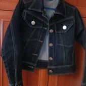 Моднейший джинсовый пиджак,р.S
