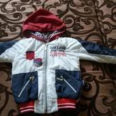 Курточка на мальчика.