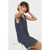 Новое красивое кружевное платье h&m