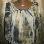 Женская шифоновая блуза jane norman