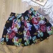 красивейшая юбка с имитацией вышивки,BeBeau размер М-Л