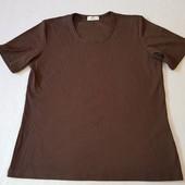 Стильная женская футболка в рубчик Bonita, Германия, размер M - L