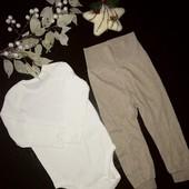 Набор штанишки + бодик Lupilu 74-80 размер осень