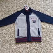 Класна кофта, кардиган для хлопчика 2-3р.(92см), приємна тканина, гарна якість