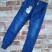 Классные модные джинсы для девочек/ Размер 146-152/
