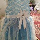 Симпатичне платтячко на рік одіте один раз