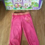 Не пропустите!!!Очаровательные фирменные ярко- розовые бриджики M&Sна красавицу 6-7 лет