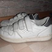 Кроссовки кеды белые унисекс