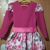 Красивое, нарядное платье для вашей маленькой принцессы.