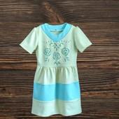 Красивое платье для девочки, см. замеры