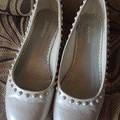 Белые туфли 34 размера