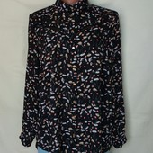 Фирменная блузочка в цветах, George, грудь-110