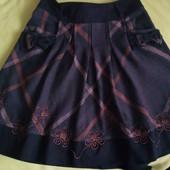 Классная теплая юбка, размер S, М