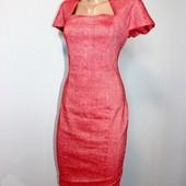 Качество!!! Стильное льняное платье от Asos, в отличном состоянии