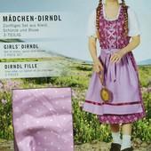 М17.Костюм народный, баварский платье 134 pepperts