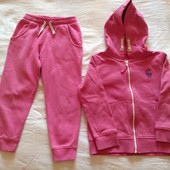 Теплый костюм Next (Некст) для девочки, размер 110, 4-5 лет.