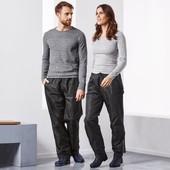 Нюанс! Водонепроницаемые брюки для дождливой погоды,мембрана 3000!,унисекс Tchibo(Германия),размер S