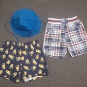 Плавки + панамка + шорты