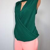 Качество!!! Стильная блуза/удлиненная спинка от Dorothy Perkins