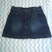 Джинсовая юбка Alive на рост 152 см. Почти новая!