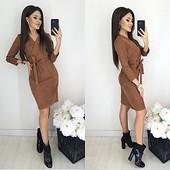 Новое платье замш р42-44