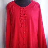 Красная блуза Charles Vogele , евро размер 44, наш 50-52, в отличном состоянии