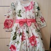 Единственное!!!Просто бомба! Шикарное платье с большим бантом✓✓✓