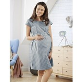 Esmara Германия Летнее шикарное платье для беременных и кормящих 100% коттон Размеры