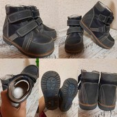 Ортопедические сандалии из нубука,  ортопед. ботинки на осень из кожи