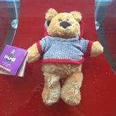 Hug мишка плюшевый мягкая игрушка с биркой на подарок 26 см новый с биркой
