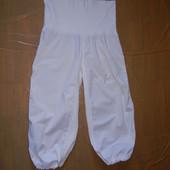 M-L, поб 48-50, легкие летние капри бриджи для беременных JOY