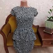Платье в принт Зебра!
