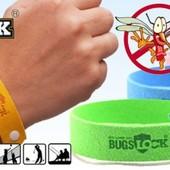 Браслет от комаров Bugs Lock, многоразовый Лот 5 шт