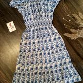 Лёгкое платье в цветочный принт