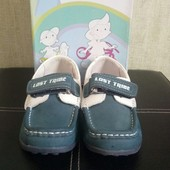 Кожаные туфли (мокасины) Flamingo для мальчика, р.27