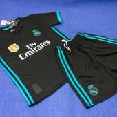 Форма футбольная детская Реал Мадрид размер 20 на рост 115 см. Новая финишная