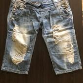 Молодёжные джинсовые шорты