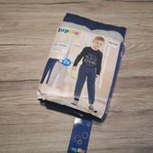Германия! Спортивные утепленные джогеры на мальчика. 98-104 см, 2-4 года! 2 шт в лоте.