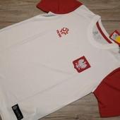 Польша! Спортивная футболка для физры, размер 152 см рост