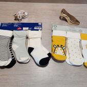 Германия!!! Лот из 8 классных носков с махрой! 19-22 размер!