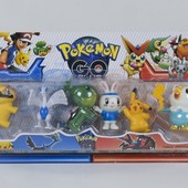 Набор фигурок Покемоны 6 шт. На выбор один набор, можно докупить за ставку. Много лотов.