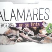 Вкусненькие кальмары.Испания.В лоте баночка .