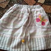 Новая юбочка на девочку 3-4 г. Смотрите замеры