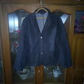 Джинсовый пиджак и рубашка в одном лоте!!!