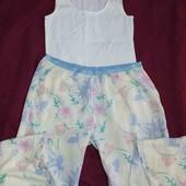 esmara.нежная пижама с вискозными штанами М40/42+6