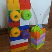 Конструктор кубики крупные