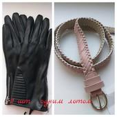 Женские перчатки,утеплённые+ женскией ремень, все одним лотом.Прекрасное дополнение к вашему образу.